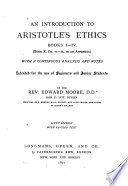 An Introduction to Aristotle's Ethics