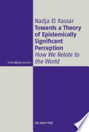 Towards a Theory of Epistemically Significant Perception Book