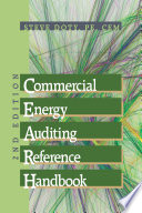 Commercial Energy Auditing Reference Handbook Book PDF