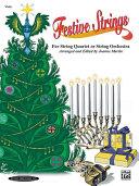 Pdf Festive Strings for String Quartet or String Orchestra Telecharger