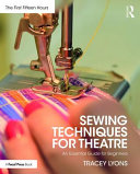 Sewing Techniques for Theatre