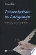 Presentation in Language