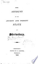 Some Account of the Ancient and Present State of Shrewsbury