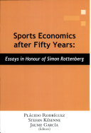 Sports Economics After Fifty Years
