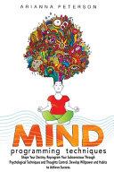 Mind Programming Techniques