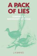 A Pack of Lies