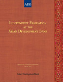 Independent Evaluation at the Asian Development Bank