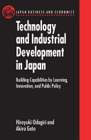 Technology and Industrial Development in Japan