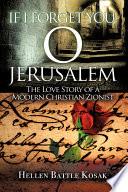 If I Forget You O Jerusalem Book PDF