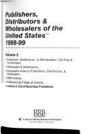 Pdf Publishers, Distributors, & Wholesalers of the United States