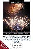 Econoguide Walt Disney World  Universal Orlando 2005 Book
