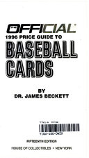 The Official Price Guide to Baseball Cards 1996