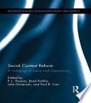 Social Context Reform