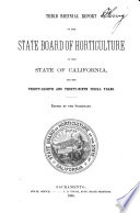 Biennial Report Of The State Board Of Horticulture