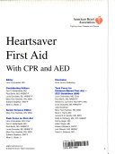 Heartsaver First Aid  with CPR and AED Book PDF