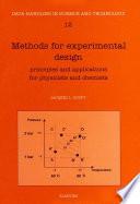 Methods For Experimental Design Book PDF