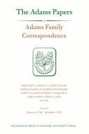 Adams Family Correspondence: January 1790-December 1793