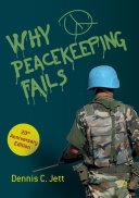 Why Peacekeeping Fails Pdf/ePub eBook