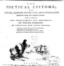 Pdf The Poetical Epitome Or Extracts, Elegant, Instructve and Entertaining, Abridged