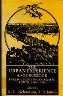 Pdf The Urban Experience