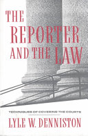 The Reporter And The Law