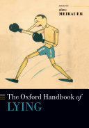 Pdf The Oxford Handbook of Lying