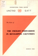 The Role of the Freight Forwarder in Developing Countries