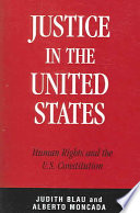Justice in the United States Book