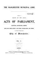 The Manchester Municipal Code