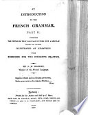 An Introduction to the French Grammar, etc