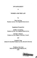 Women and the Law  1997 Supplement To