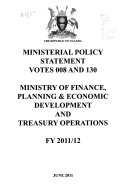 Ministerial Policy Statement To Parliament For The Financial Year