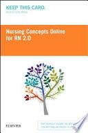 Nursing Concepts Online - Rn 2.0 Retail Access Card