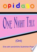 One Night Talk