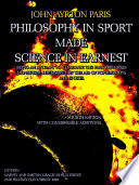 Philosophy in Sport Made Science in Earnest