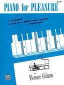 Piano for Pleasure  Book 1