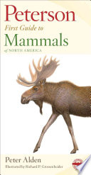 Peterson First Guide to Mammals of North America Book