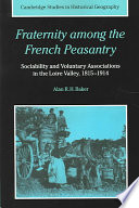 Fraternity Among The French Peasantry