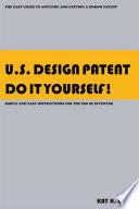 U S  Design Patent Do It Yourself