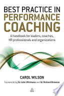 Best Practice in Performance Coaching Book PDF
