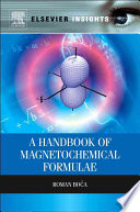 A Handbook of Magnetochemical Formulae