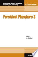 Persistent Phosphors 3 Book