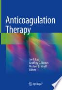 Anticoagulation Therapy