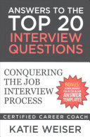 Answers to the Top 20 Interview Questions