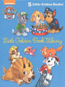 Paw Patrol Little Golden Book Library  Paw Patrol  Book PDF
