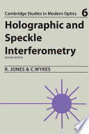 Holographic And Speckle Interferometry Book PDF