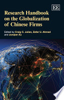 Research Handbook On The Globalization Of Chinese Firms Book PDF