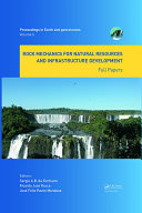 Rock Mechanics for Natural Resources and Infrastructure Development - Full Papers [Pdf/ePub] eBook