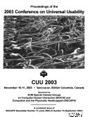 CUU     Conference Proceedings
