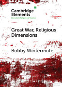 Great War  Religious Dimensions